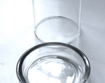 Miniature Glass Cloche, Glass Dome with base