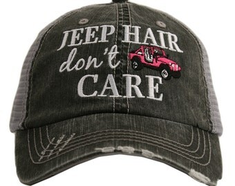 Jeep Girl Hat Etsy