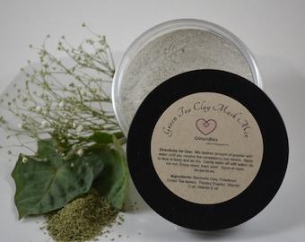 Green Tea Clay Mask - Powder Mix