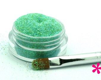 WATERFALL BLUE-GREEN Cosmetic Glitter for Makeup, Eye Shadow, Lips, Nail Polish, Body Shimmer & Hair Sparkle (D010)