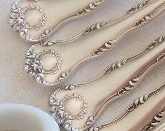 Silverplate Dinner Forks - Set of 10 - Argyle 1913 by Anchor Rogers - Victorian Silver