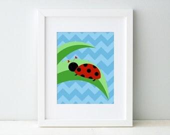 ladybug bedroom decor etsy