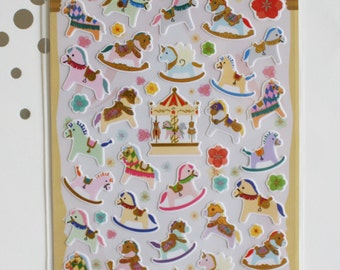 Merry Go Round Sticker Sheet
