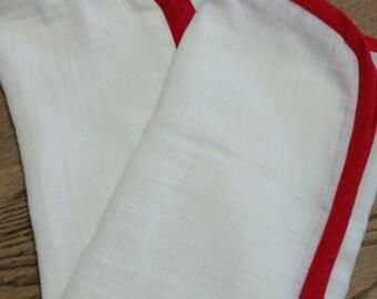 Western Swaddle Baby Blankets, Summer Gauze Western Baby  Blankets, Summer Baby Blankets