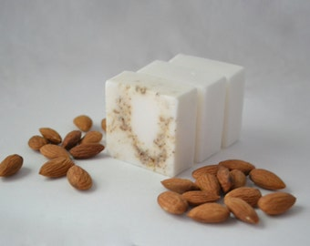 Almond Goat Milk Soap, Almond Soap, Goat Milk Soap
