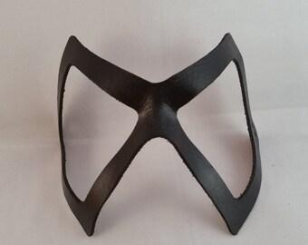 Ms Marvel Inspired Mask - Hero Mask - Handmade Leather