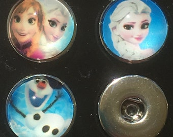 Frozen Snap Charms