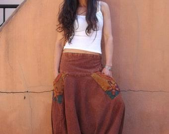 Harem Pants ...Yoga Pants ..Leisure Pants ..Stone Wahsed Fabric