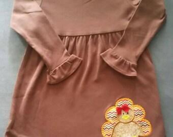 Personalized Turkey Dress **Ready to Ship!!**