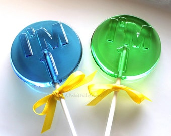 1st Birthday Party Favors, Number Party Favors, Number 1 Lollipops, Table Numbers, Number 1, Turning ONE, Barley Pops, 9 Lollipop Favors
