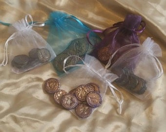 Magical Fairy Pennies. Hand crafted