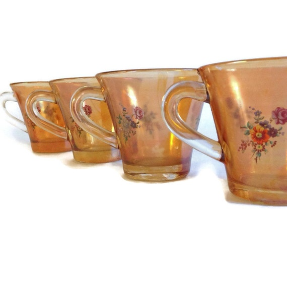 Vintage Glass Mugs 61