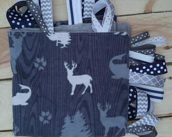 Woodland Taggie Blanket