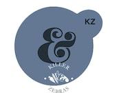 """Ampersand 3"""" Round Mini Stencil"""