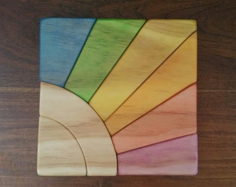 Rainbow Sunshine Puzzle