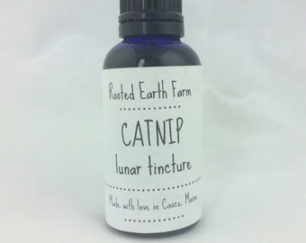 Catnip Tincture, Organic Catnip, Herbal Tincture, Herbal Medicine, Organic Tincture, Catnip Extract, Herbal Extract, Stress Tincture