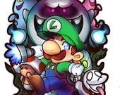 Luigi's Mansion Sticker