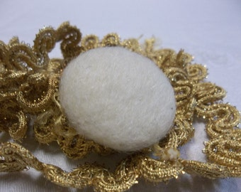 1/2 OFF!!! Vintage Wool Coat Button Adjustable Ring, Fashion Ring, S