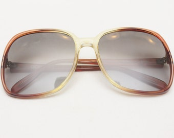 "80's Vintage ""CORNING"" Large Lens Sunglasses"