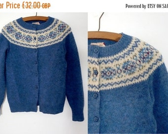 50% off SALE 1960s fair isle sweater / Deans of scotland sweater / Norwegian sweater