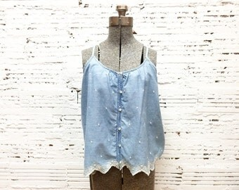 Denim Tank - Large