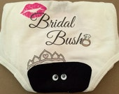 Bridal Bush Panty for your Bachelorette Party, Lingerie Shower, Bridal Shower or Birthday Party.