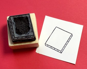Blank Canvas Rubber Stamp SALE