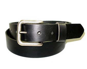 "1 1/2"" Premium Bridle Leather Belt Size 26-46"