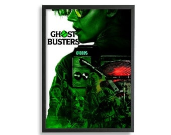 Ghostbusters Poster. Ghostbusters 2016 poster. Wall Artwork. Multiple Sizes. Bill Murray Poster. Kate McKinnon Poster