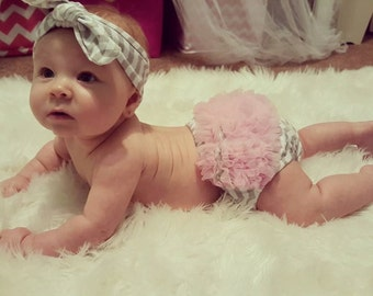 Matching Headband and Bloomer Set
