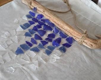 Sea Glass Mobile - Sea Glass Windchime - Sea Glass (26)