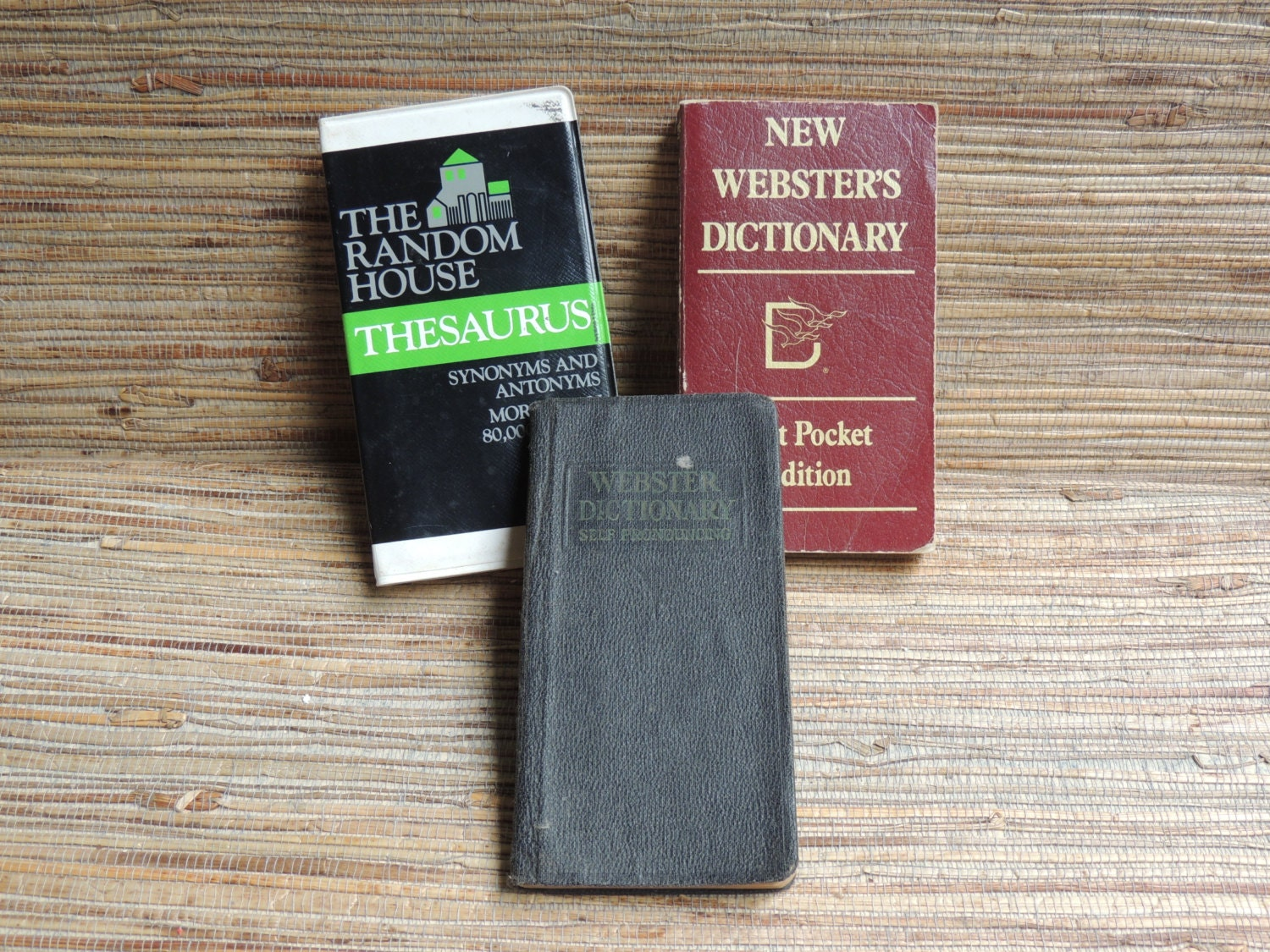 Vintage Webster Vest Pocket Dictionaries And Random House