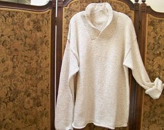 Vintage Boyfriend Sweater - Coldwater Creek - Size XL - Red Dirt Girl 295