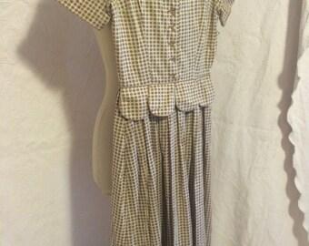 Vintage polk-a-dot dress