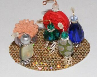 1:6, Barbie Size, 6 Miniature Perfume Bottles, Doll House, Dollhouse, Handmade