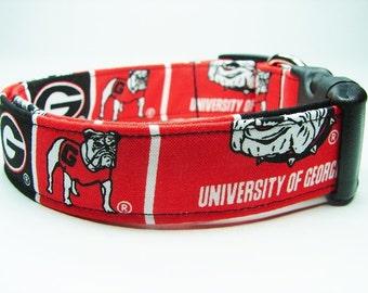 University of Georgia Bulldogs Dog Collar
