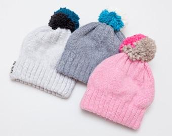 pompom hat onesize