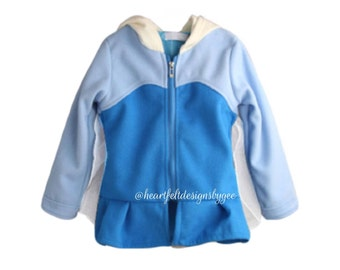 Princess|| Elsa Sweater Jacket