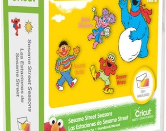 Sesame Street Seasons, NEW Cricut Cartridge