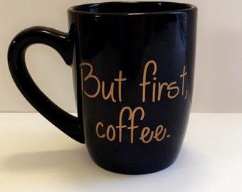 But first, coffee 12 oz coffee mug