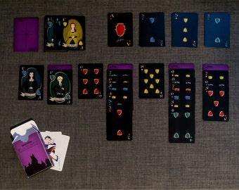 SAVE 20%!  Hogwarts House Playing Cards