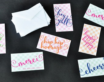 Every Occasion Personalized Gift Tags with Envelopes
