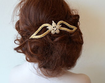 Wedding Hair Accessories, Bridal Headpiece, Wedding Headband, Bridal Hair Jewelry