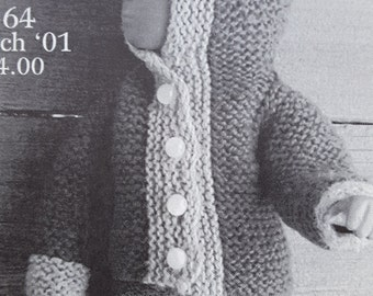 Woolgathering #64 EZ's Doll Clothes Elizabeth Zimmerman Knitting