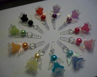 ANGEL AntiDust Plug Stopper Mobile Phone IPOD/MP3/ Charm - Gift - 11 Colours to Choose From