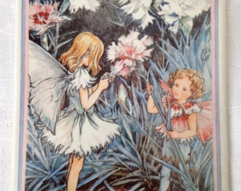 Vilbo Card Carnation Flower Fairy