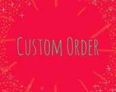 Custom listing for Cheryl!