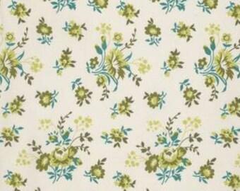 Joel Dewberry Birch Farm 'Feedsack' in Sage Cotton Fabric