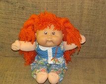 Original Cabbage Patch Kid CK17 first edition, red head cabbage patch kid, mattel doll, cabbage patch beauty, 1983 cabbage patch doll