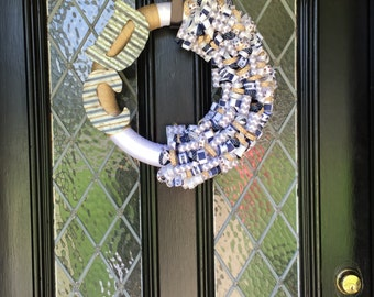 Dallas Cowboys Ribbon Wreath